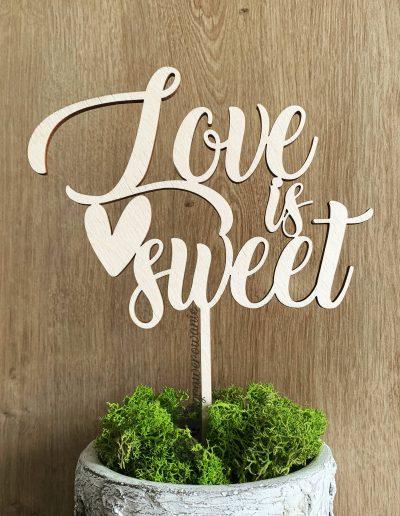 topper love is sweet